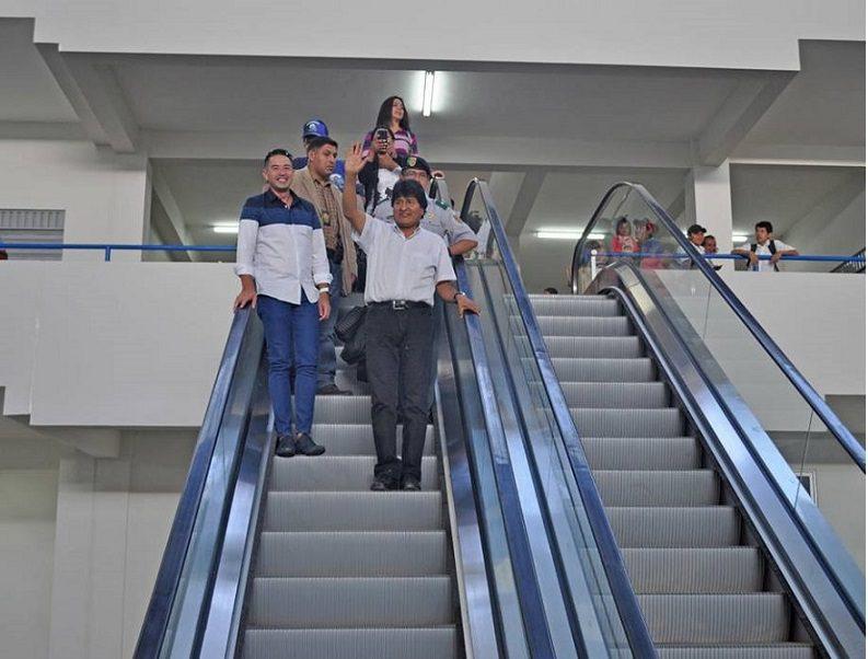 evo morales 1 - Gobierno boliviano crea nuevo formato comercial en Santa Cruz