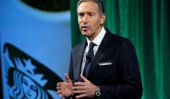 ex presidente de Starbucks 248x144 - Ex-CEO de Starbucks buscará ser presidente de Estados Unidos