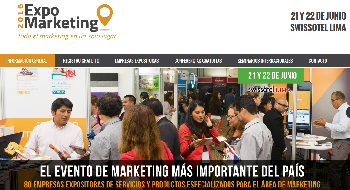 expo marketing 2016
