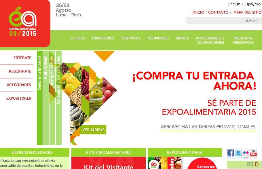expoalimentaria peru 2015