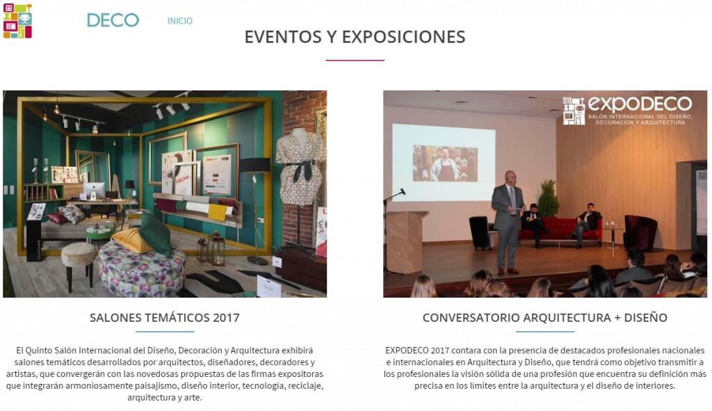 expodeco exposiciones