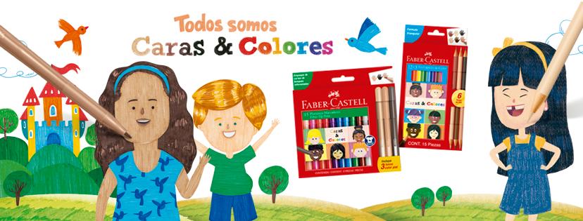faber castell - Lanzan lápices y plumones con 6 tonos de piel para representar la diversidad racial
