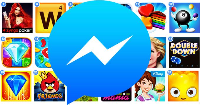facebook messenger games - Facebook Messenger lanza plataforma de videojuegos