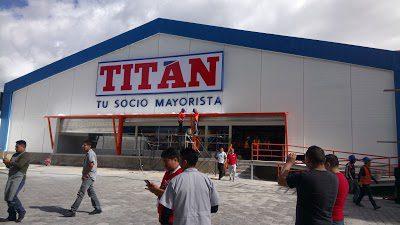 fachada de titán - Ecuador: Conoce la tienda para mayoristas lanzada por Corporación Favorita