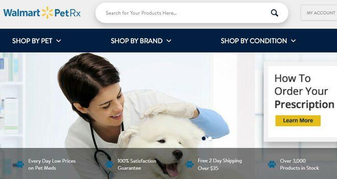 farmacia online mascotas Walmart - Perú Retail