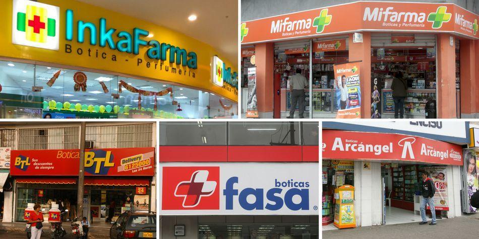 farmacias peru 2018 - Indecopi y Colegio Químico Farmacéutico se pronuncian sobre la venta de Mifarma a Inkafarma