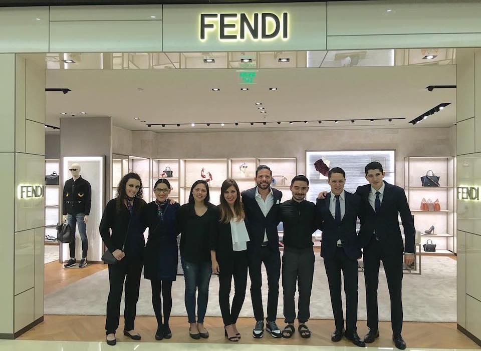 fendi mexico 3 - Fendi y Rolex abren tiendas de lujo en México