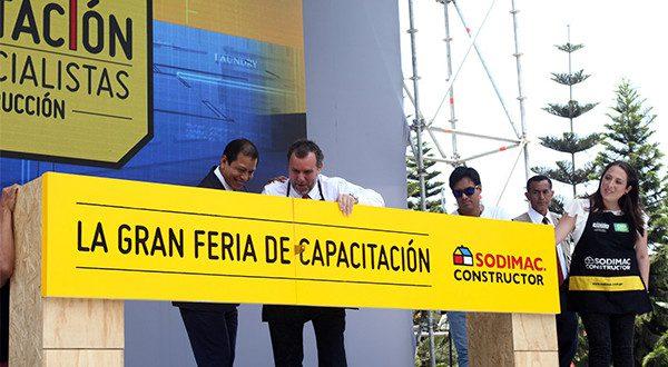 feria de sodimac constructor - Perú: Gran Feria de Capacitación reunió a más de 8 mil especialistas de construcción