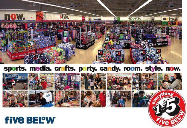 five below 3 - Five Below abre nueva tienda en Carolina del Sur en EE. UU.