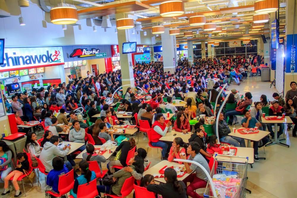 food court 1 1 - Perú: 40 franquicias extranjeras llegarían este 2018