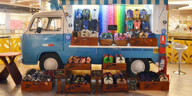 foot truck - Havaianas inauguró foot truck en el Jockey Plaza