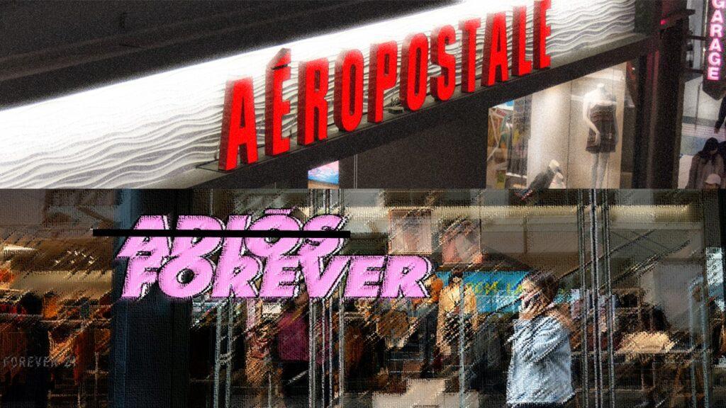 forever 21 aeropostale peru retail 1024x576 - Pier 1 Imports, el retailer se declara en bancarrota y cierra más de 450 tiendas
