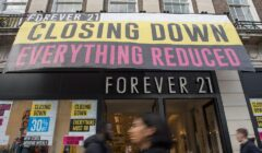 forever 21 closeing store