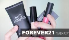 forever 21 cosméticos 240x140 - Forever 21 planea abrir 10 tiendas de cosméticos en EE. UU.