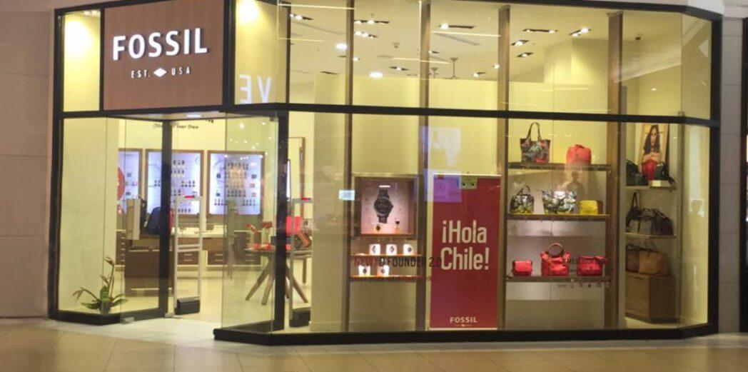 fossil costanera center chile - Fossil planea abrir 7 tiendas en los próximos 3 años en Chile