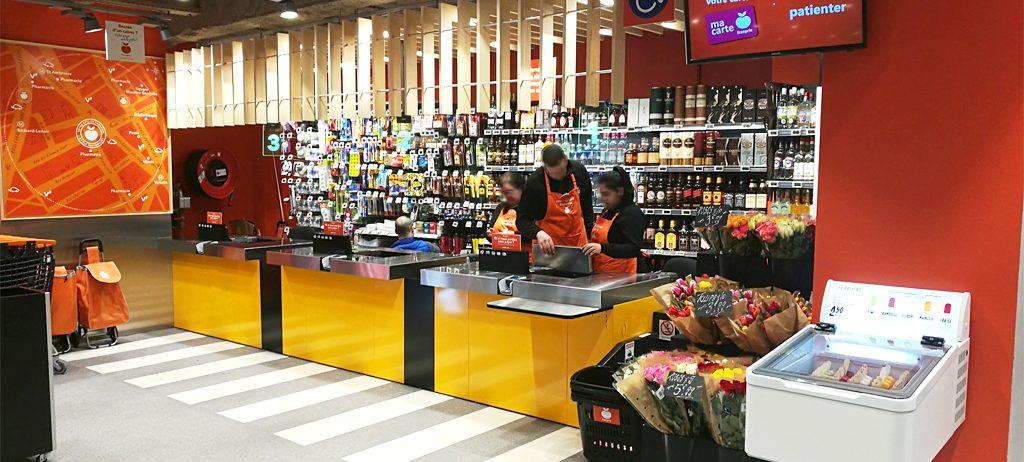franprix2 1024x462 - Minorista Casino abrirá su primer supermercado sin cajeros en París