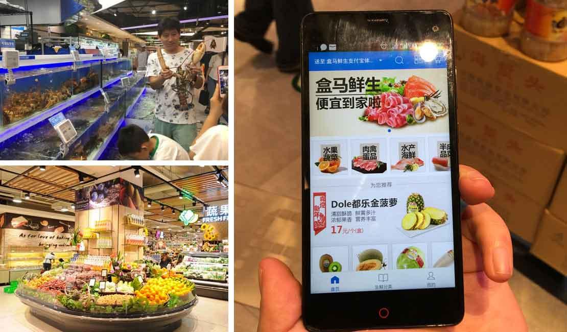 fresh food - Supermercado chino de Alibaba reinventa la forma de comprar