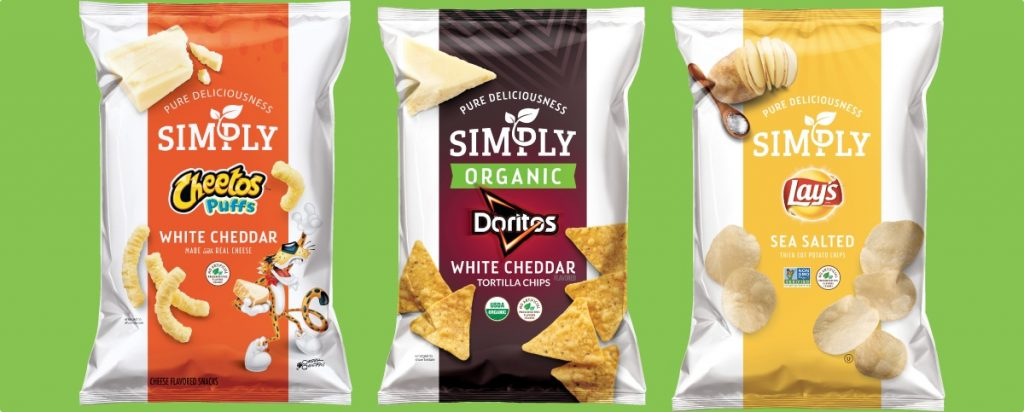 frito lays simply organico 2 1024x412 - Frito-Lay lanzó su nueva línea de snacks orgánicos 'Simply'