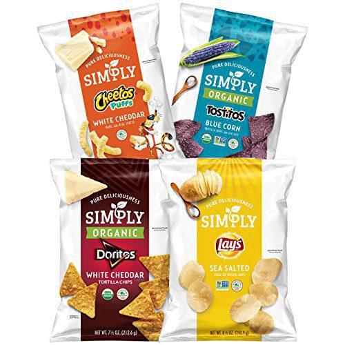 frito lays simply organico - Frito-Lay lanzó su nueva línea de snacks orgánicos 'Simply'
