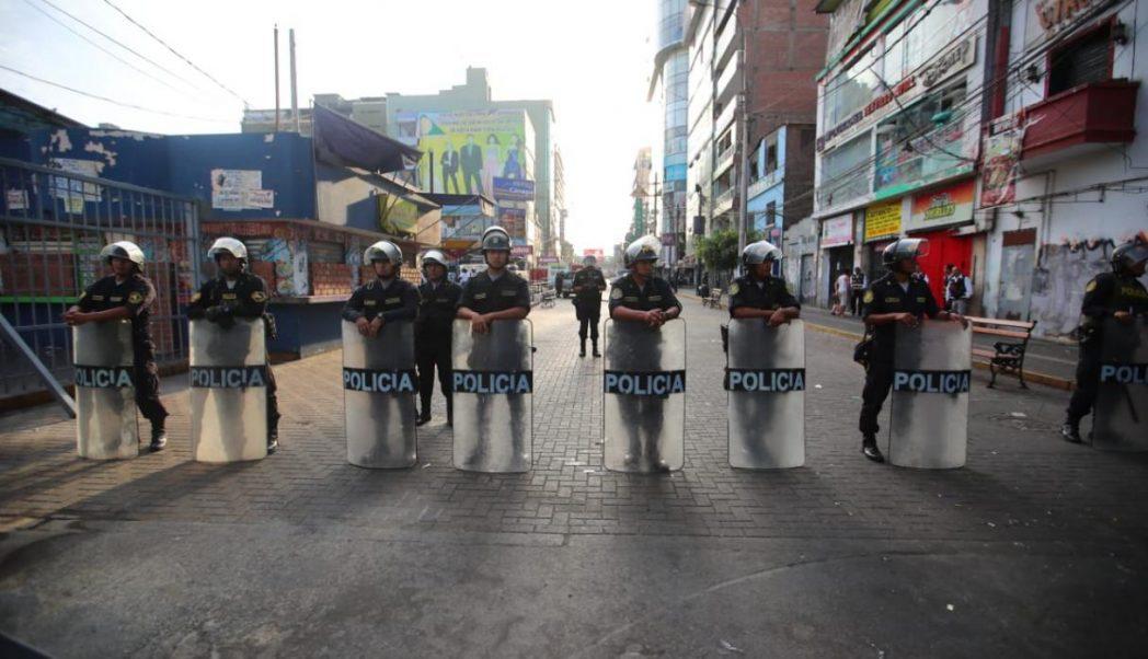 gamarra - Perú: Cierran por tres días emporio comercial de Gamarra