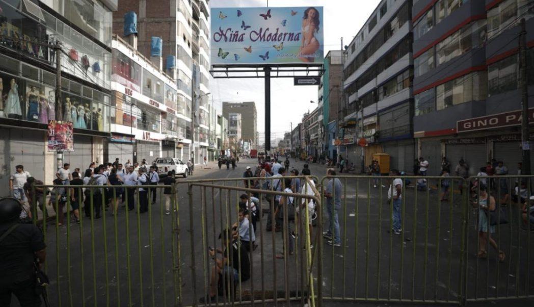 gamarra1 - Perú: Hoy reabre Gamarra luego de permanecer 3 días cerrada