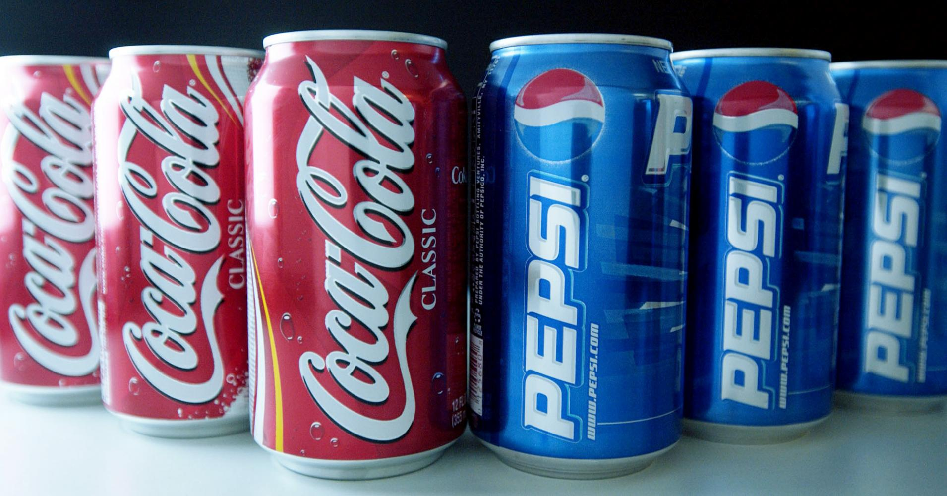 gaseosas 1 - Pepsi apostará por mayor publicidad para hacer frente a Coca Cola