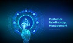 gestion-del-cliente-mano-robotica-conmovedora-interfaz