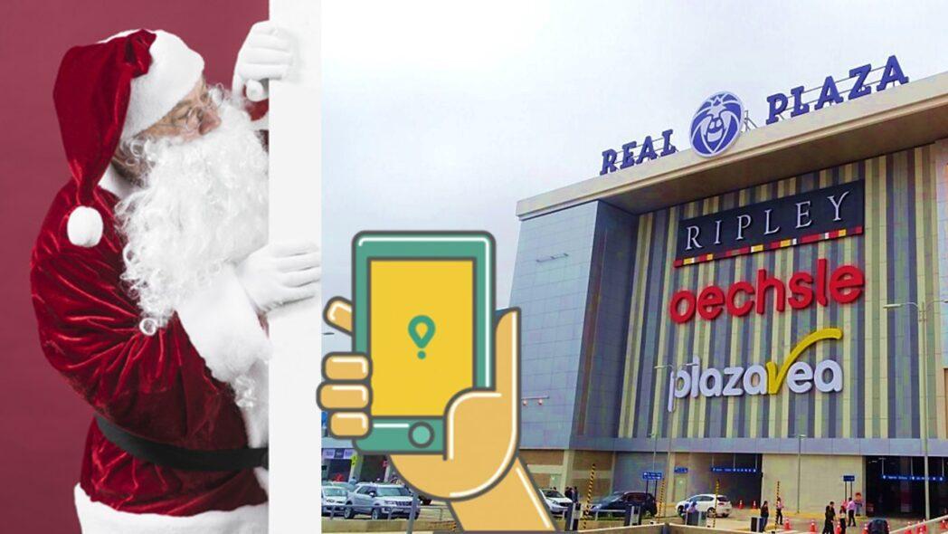 """glovo real plaza - Conoce a """"Santa SOS"""" la opción de Real Plaza y Glovo para las compras navideñas"""