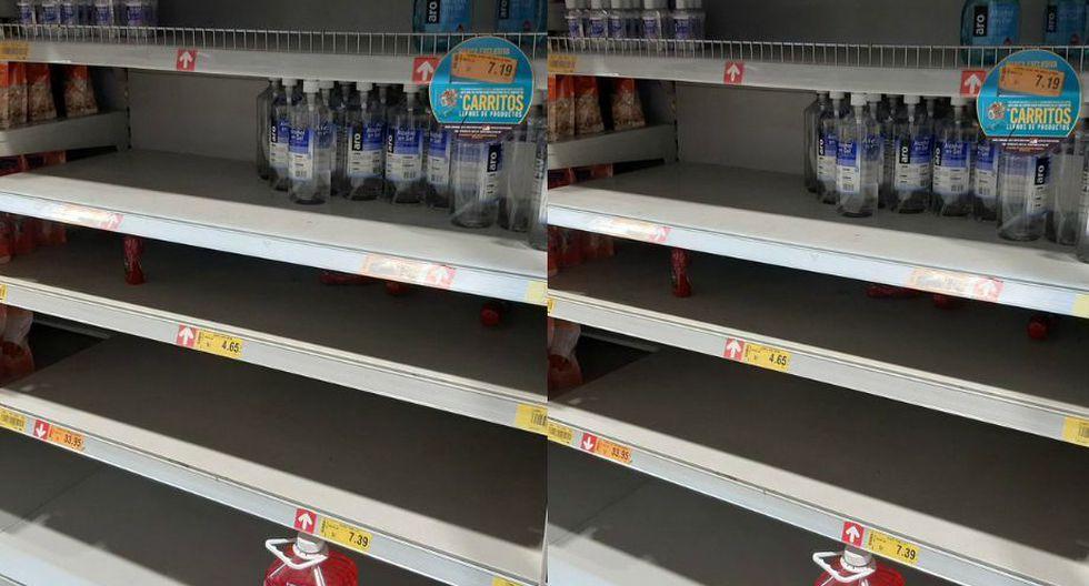 gondolas desabastecidas 3 - La histeria colectiva en los supermercados y sus implicancias