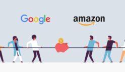google vs amazon 248x144 - Google enfrenta a Amazon con nueva herramienta que impulsa ventas online