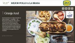 """granja azul 240x140 - Perú: Inca Kola hizo entrega del premio al """"Mejor Pollo a la Brasa"""""""