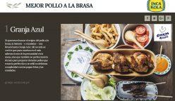 """granja azul 248x144 - Perú: Inca Kola hizo entrega del premio al """"Mejor Pollo a la Brasa"""""""