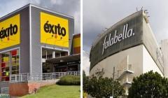 grupo éxito y falabella 240x140 - Falabella y Grupo Éxito aumentaron sus compras a proveedores colombianos