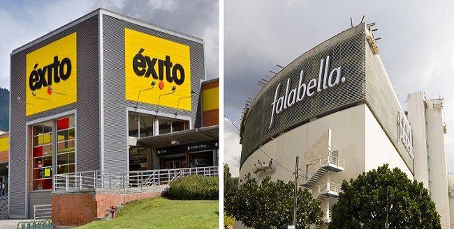 grupo éxito y falabella - Falabella y Grupo Éxito aumentaron sus compras a proveedores colombianos