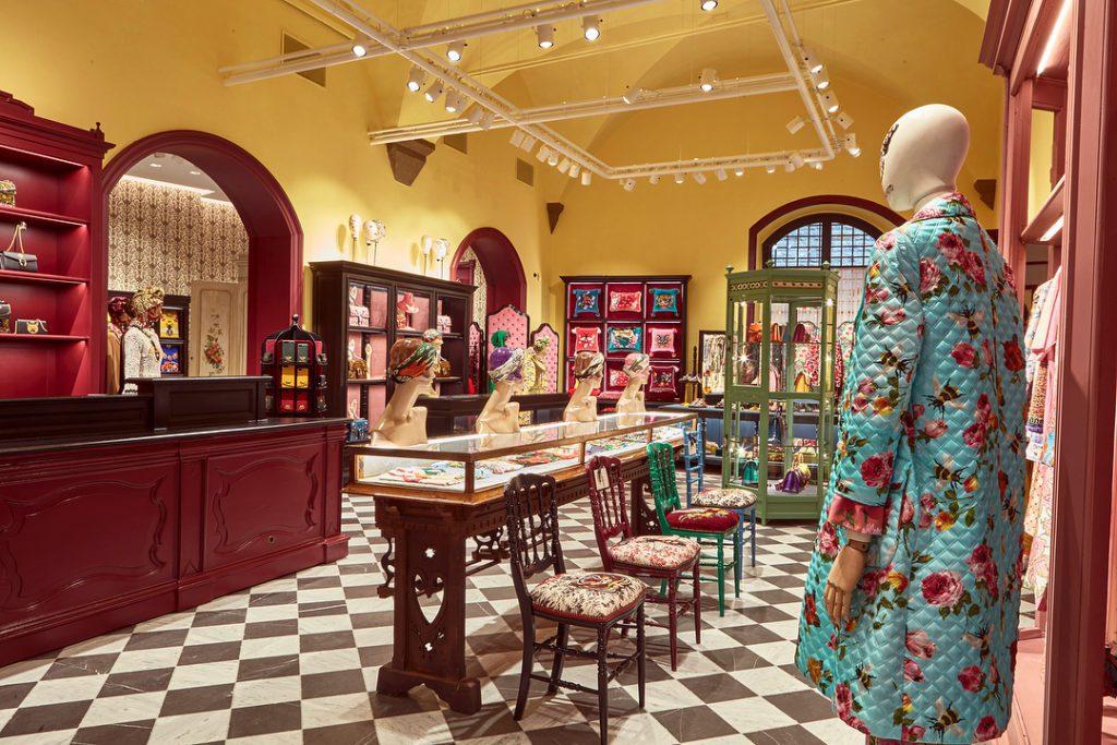 gucci garden florence habituallychic 007 1024x683 - Gucci abre lujoso restaurante dentro de su tienda en Italia