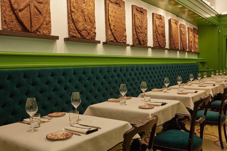 gucci garden osteria 3662 745x497 - Gucci abre lujoso restaurante dentro de su tienda en Italia