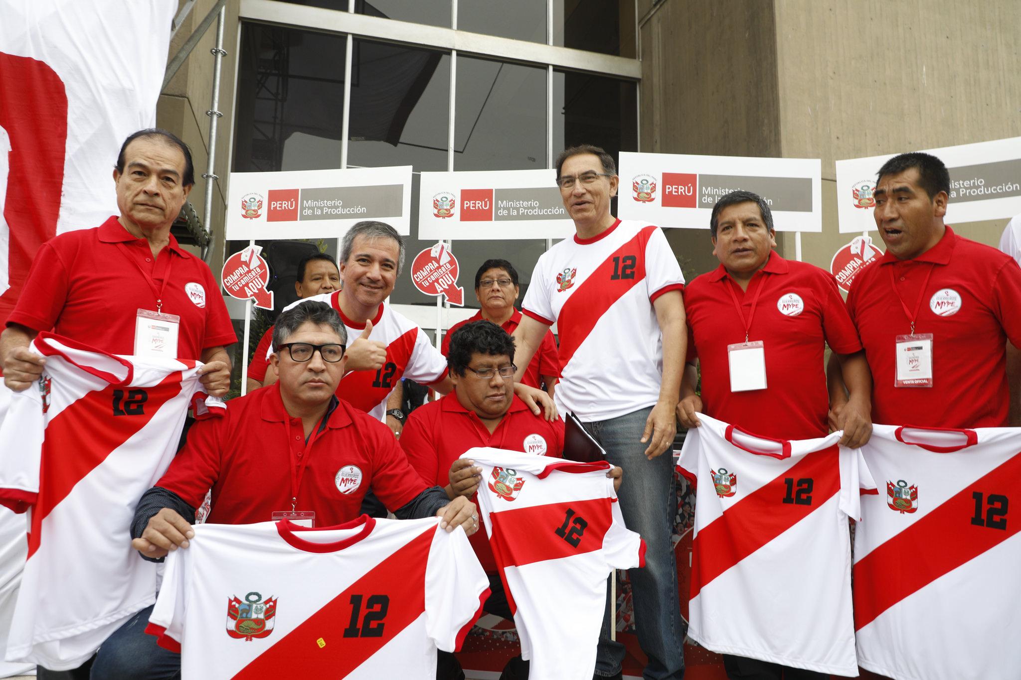 guerreros mype 3 - Perú: Guerreros MYPE busca impulsar la venta de camisetas de la selección