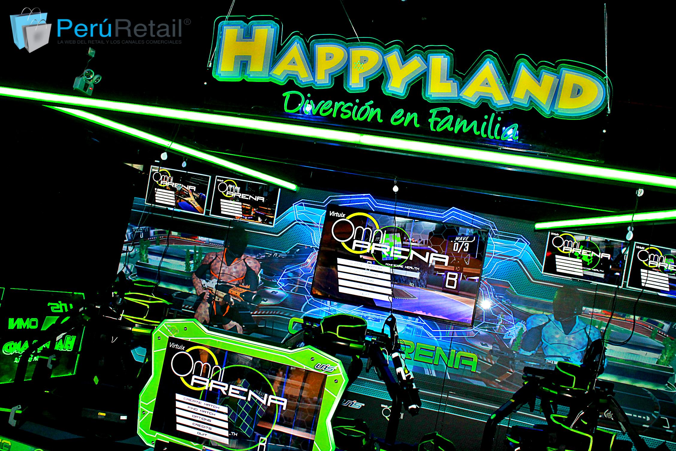 """happyland jockey plaza 1 Peru Retail - Happyland abre """"pop up store"""" de realidad virtual en el nuevo hall del Jockey Plaza"""