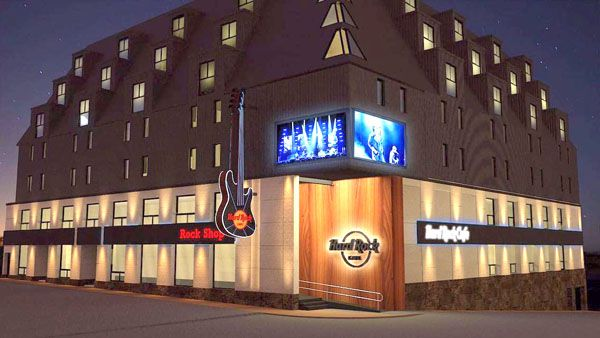 hard rock retail - Hard Rock abrirá en Argentina una de sus tiendas más grandes del mundo