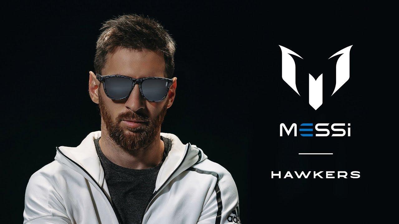 55f331c4d1 Lionel Messi se une con Hawkers para lanzar su propia colección de lentes  de sol