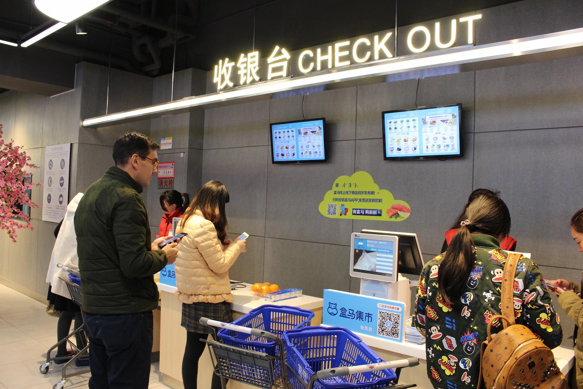 hema asia check out - Supermercado chino de Alibaba reinventa la forma de comprar