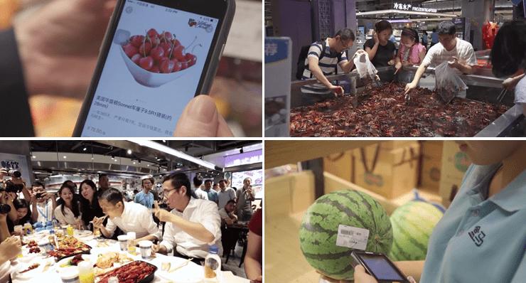 hema photo - Supermercado chino de Alibaba reinventa la forma de comprar