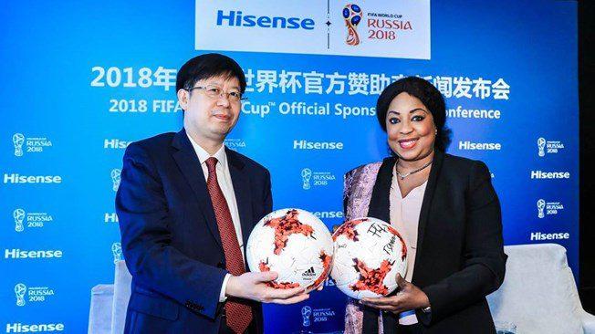 hisense - EFE proyecta vender 70 mil televisores por el mundial de fútbol