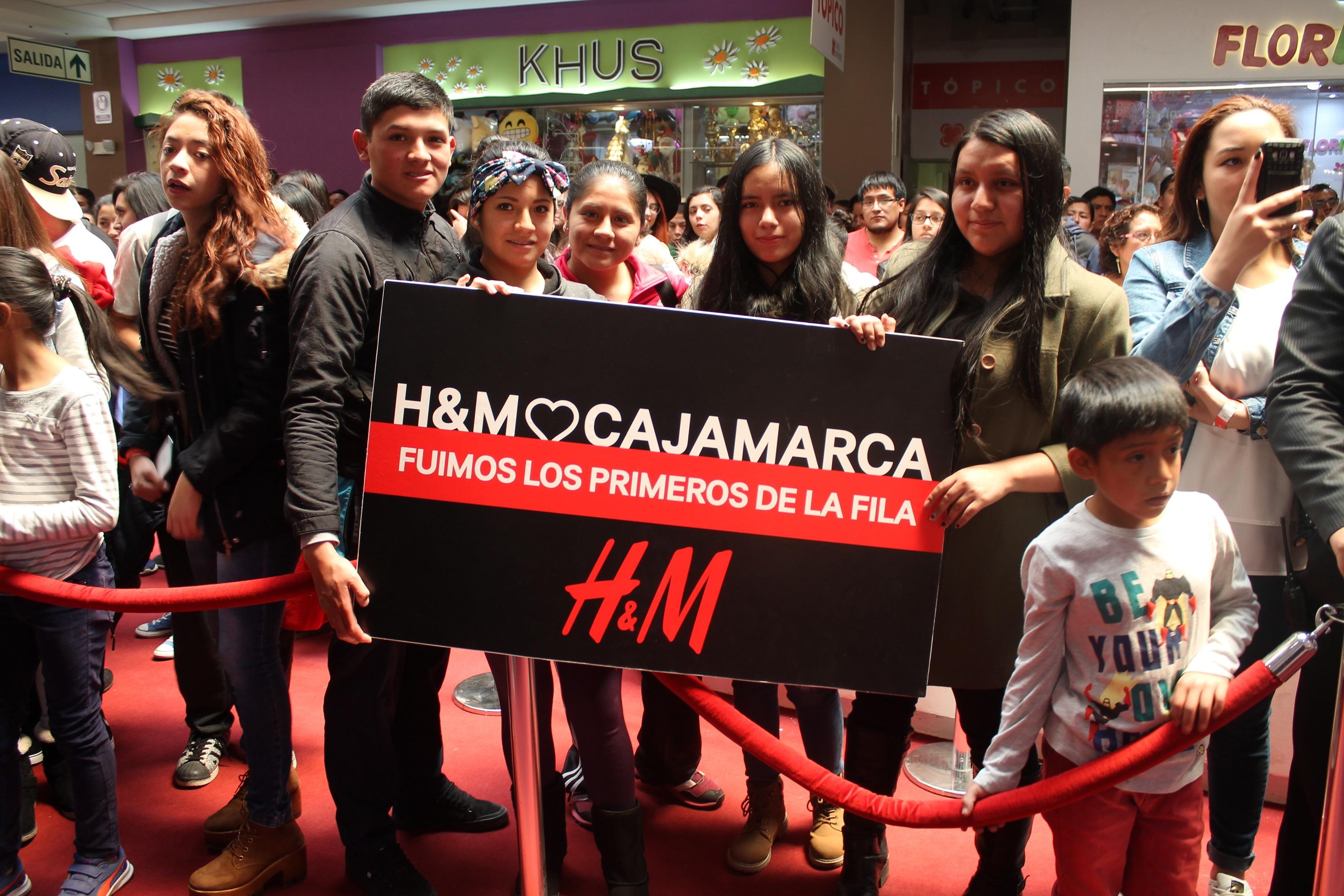 hm cajamarca peru 4 - H&M abrió su octava tienda en Perú