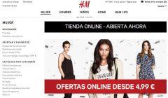 h&m tienda online