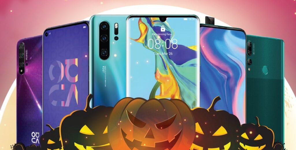 huawei 2 perú retail.png4  1024x519 - Mira las singulares propuestas de los negocios para promocionarse por Halloween