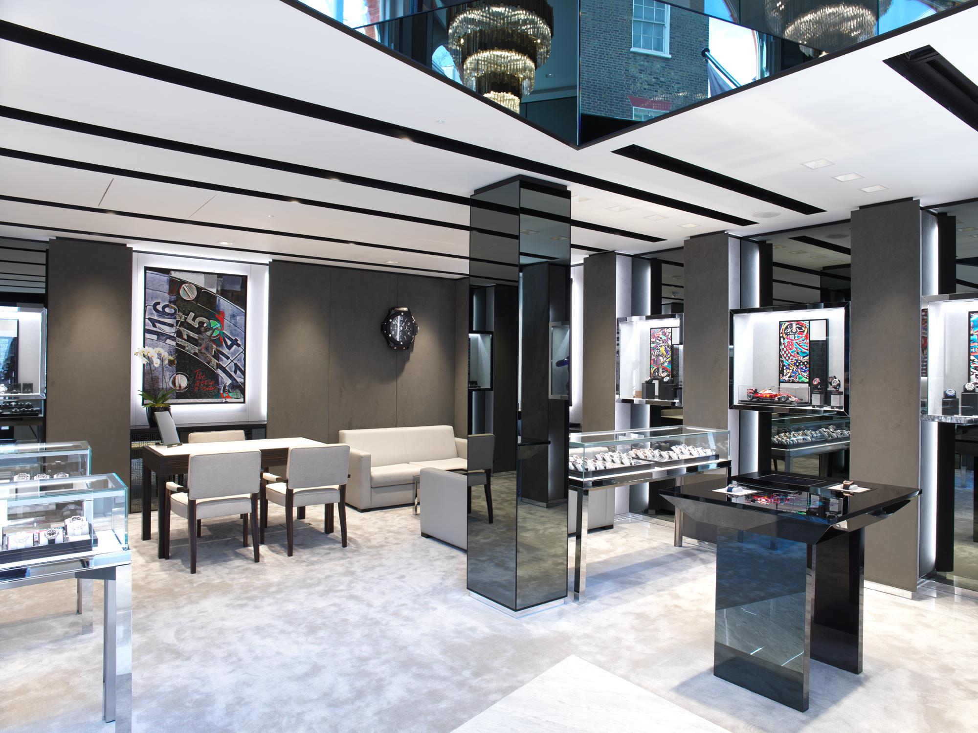 hublot tienda UK - Hublot abre boutique de dos pisos en Londres