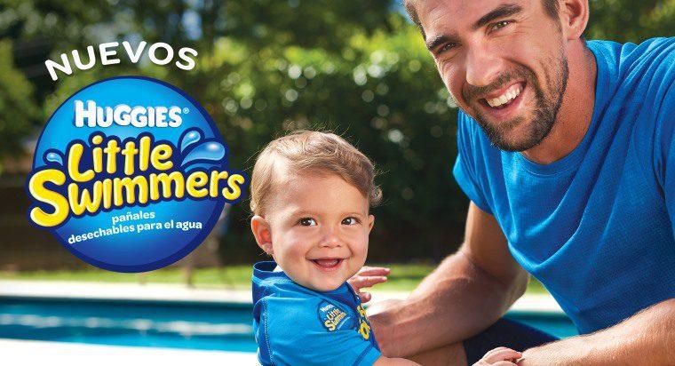 huggies michael phelps - Huggies y el nadador olímpico Michael Phelps se unen para campaña de verano