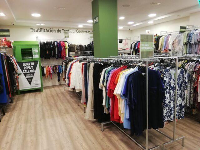 humana tienda por dentro 640x480 - España: La ropa de segunda está de moda gracias a Humana