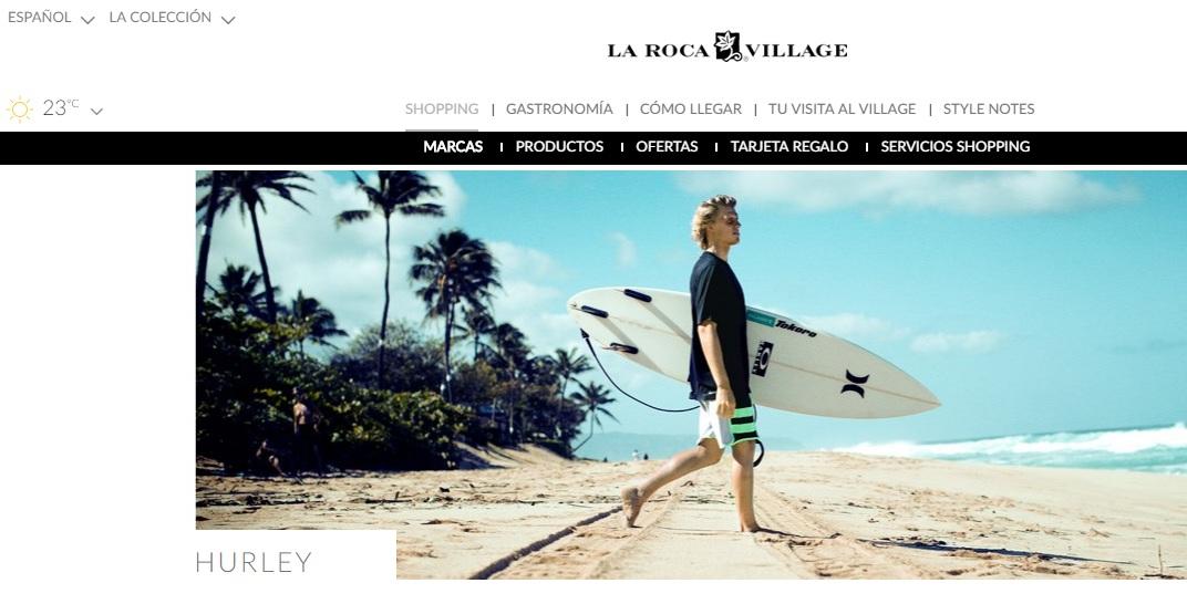 hurley la roca village - Hurley inaugura tienda en el outlet La Roca Village en España